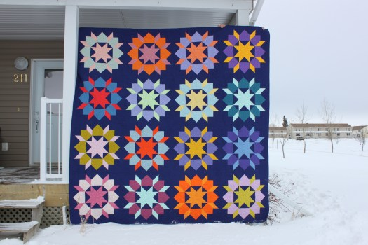 Swoon Quilt in Solid Fabrics