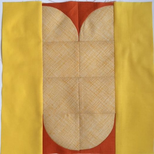 Wheat Quilt Block