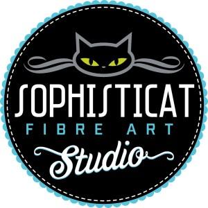 Sophisticat Fibre Art Studio logo