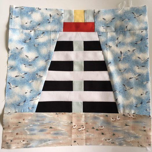 lighthouse quilt block