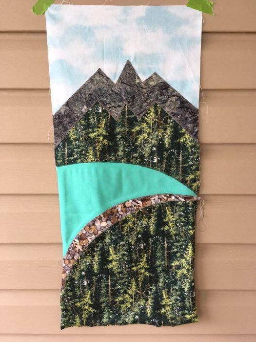Mountains Quilt Row