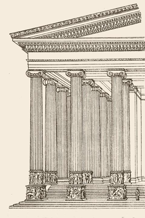Le Temple D'artémis à éphèse : temple, d'artémis, éphèse, Temple, Artemis, Ephesus, Daydream, Tourist