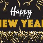 Black Gold Happy New Year