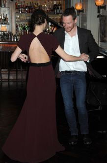 Michael Fassbender and Keira Knightley