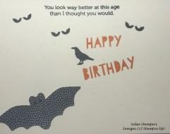 Spooky Birthday card inside