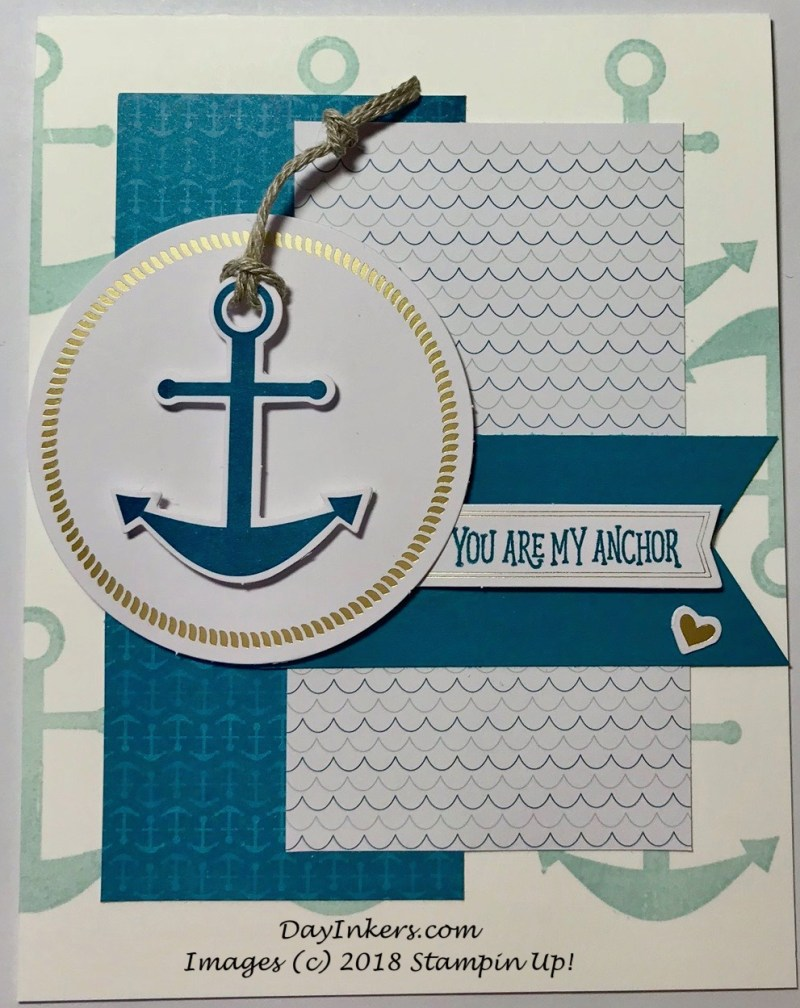 You Are My Anchor Card Alternates