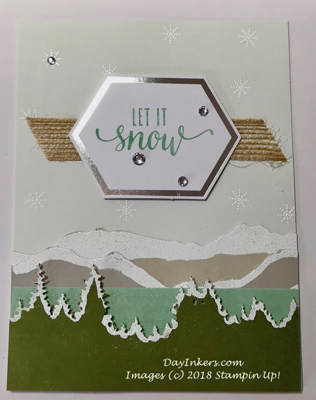 Stampin Up! Paper Pumpkin Manly Moments Alternative Christmas Card