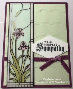 Stampin Up Graceful Glass suite