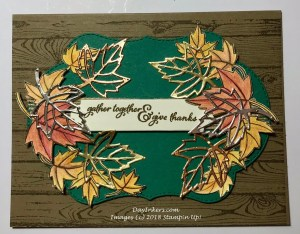 Autumn Blended Seasons Stampin Up