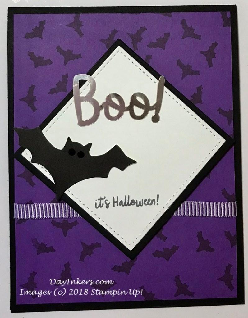 Frights & Delights Paper Pumpkin Bat Alternate