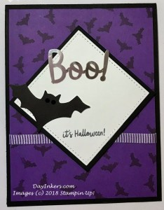 Frights & Delights Paper Pumpkin Bat Alternate