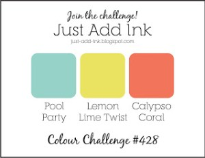 Just Add Ink Color Challenge #428