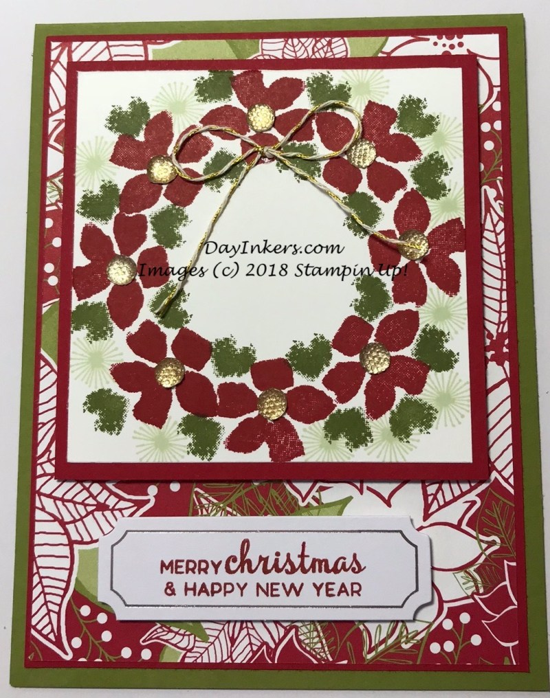 Paper Pumpkin Blissful Blooms Christmas Card