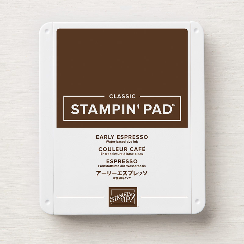 Early Espresso Classic Stampin' Pad