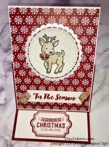 Seasonal Chums Deer Easel