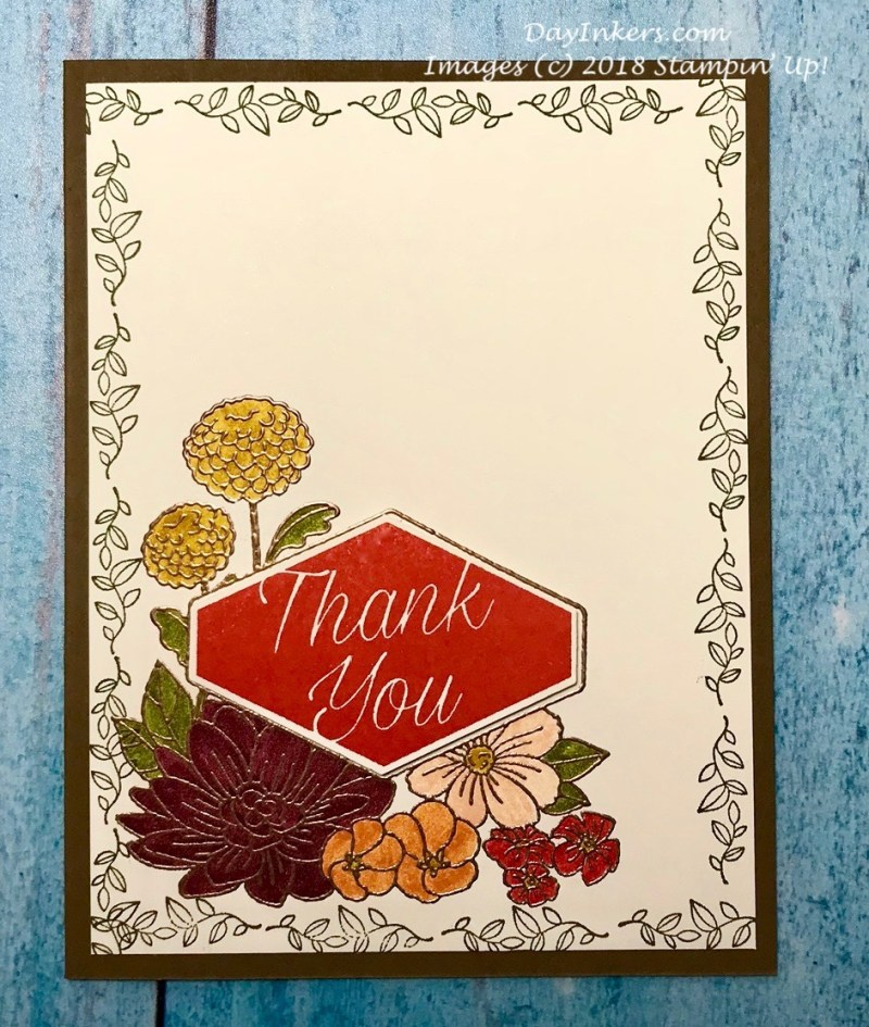 Stampin Up Accented Blooms Fall