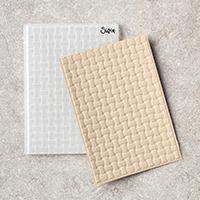Stampin' Up Basket Weave Dynamic Embossing Folder