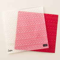 Stampin' Up! Cable Knit Embossing Folder