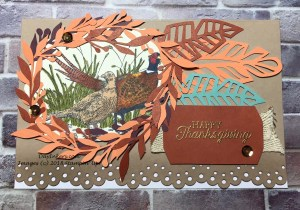 Stampin' Up! Friends of a Feather Thanksgiving