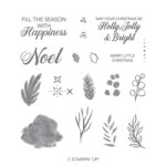 Stampin' Up Peaceful Noel Stamp set