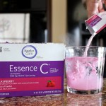 8 a.m. — Essence C is a vitamin C supplement that helps to boost the immune system. Here it is being prepared with a little over 6 ounces of water on Tuesday, April 14, 2020. Mckenzie's family in Rapid City, S.D. is taking it daily during the outbreak in an attempt to remain healthy.