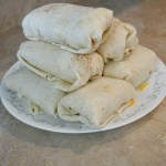 10 a.m. —Making extra breakfast burritos is a way to satisfy appetites for a few meals on Tuesday, April 14, 2020.