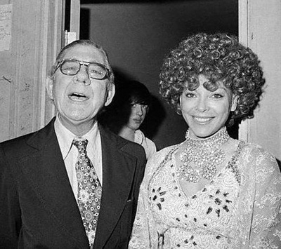 Wilbur Mills (D-Ark) and Fanne Fox, c. 1974