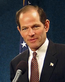 Former NY Governor and Attorney General Elliot Spitzer