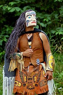 A Tlingit shaman