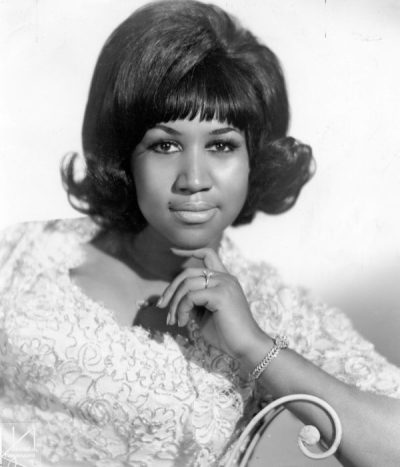 Young Aretha Franklin