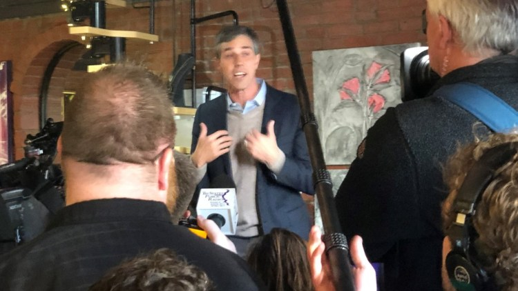 Beto in Keokuk, Iowa