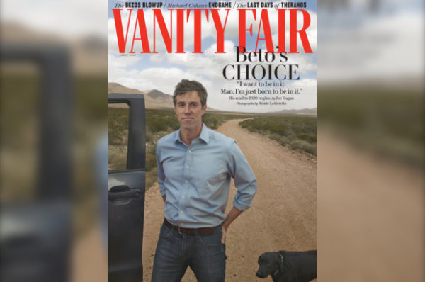 Beto Vanity Fair cover