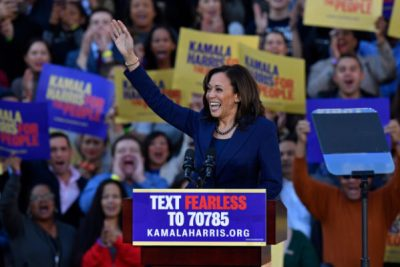 "With her background in law enforcement, Harris may be able to shed the tired conservative slur of ""soft on crime"", but does she have enough experience to govern the country?"