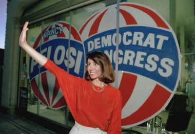 Nancy Pelosi's first political campaign, 1987