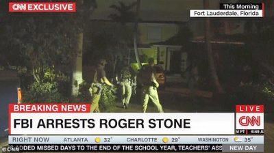 Roger Stone arrest