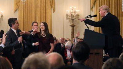 Acosta at White House