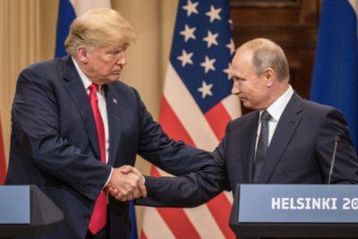 Trump-Putin handshake