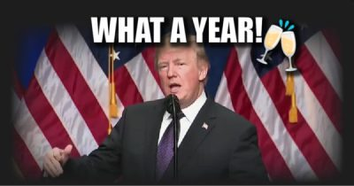 Trump - what a year