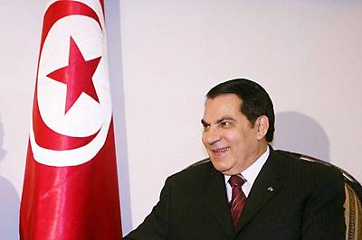 Tunisia's former president, Ben Ali