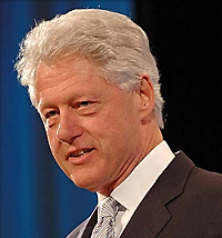Bill Clinton, Lust on the Ascendant