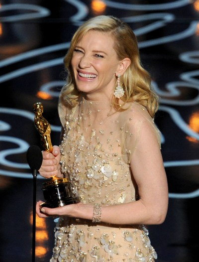 Winner Cate Blanchett