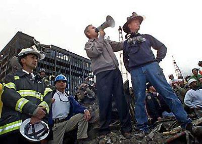 Bush at Ground Zero