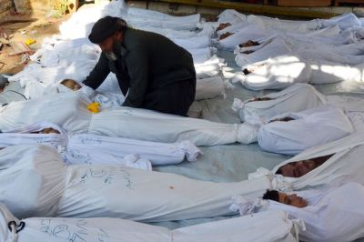 Syria chemical weapons victims