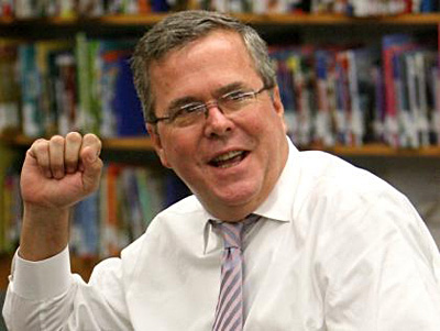 Jeb Bush, a strong contender, with Whitehouse in Aries