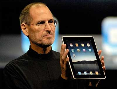 Jobs announces iPad, 2010