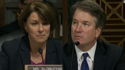 Klobochar and Kavanaugh