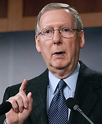 Senate Minority Leader Mitch McConnell