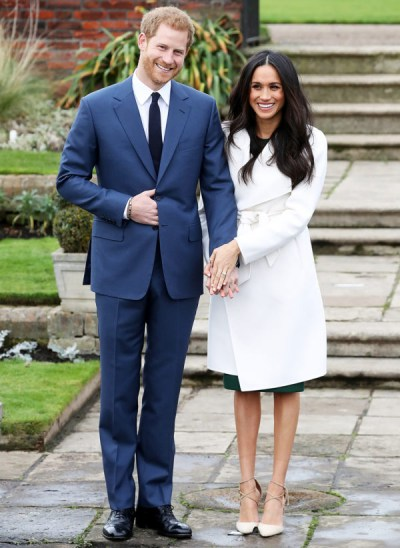 Harry and Meghan: The official engagement photo.
