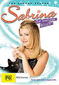 Melissa Joan Hart as Sabrina, the teen-aged witch