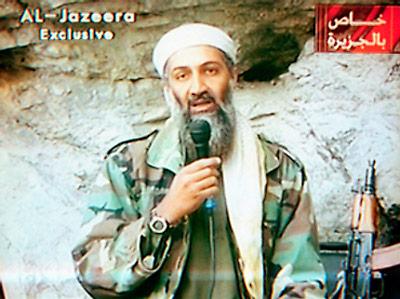 Osama bin Laden, post-9/11